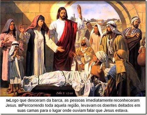 doentes jesus curava