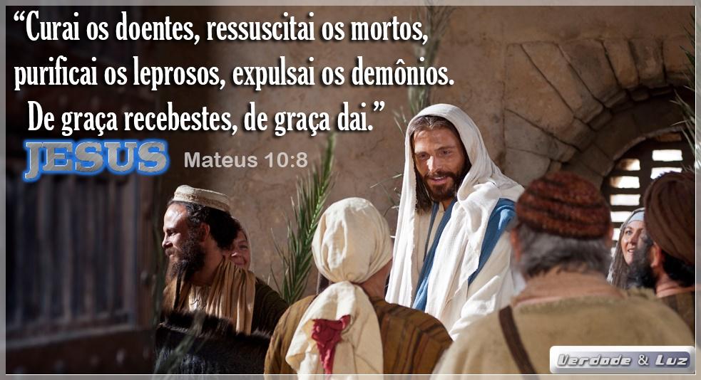 CURA-TE COM JESUS EXISTEM DOENTES DA ALMA E ENFERMOS DO CORPO