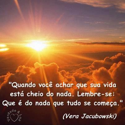 COMEÇO VERA JACUBOWSKI