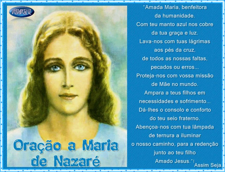 ORAÇÃO A MARIA VERA JACUBOWSKI