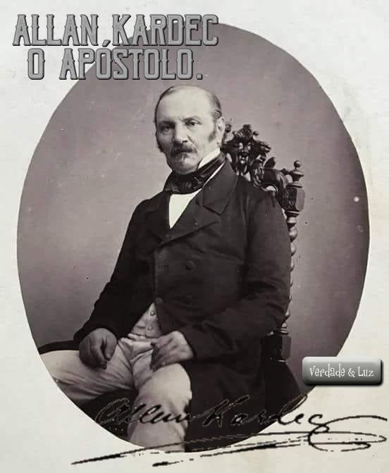 O APÓSTOLO allan kardec 4