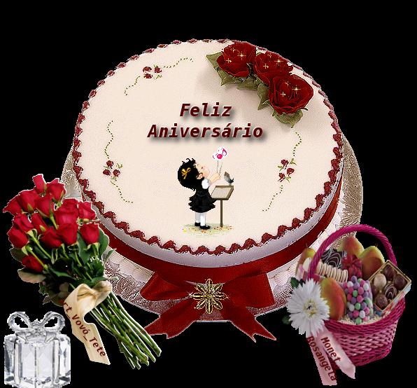 Feliz Aniversário Muita saúde e muitas alegrias em sua vida