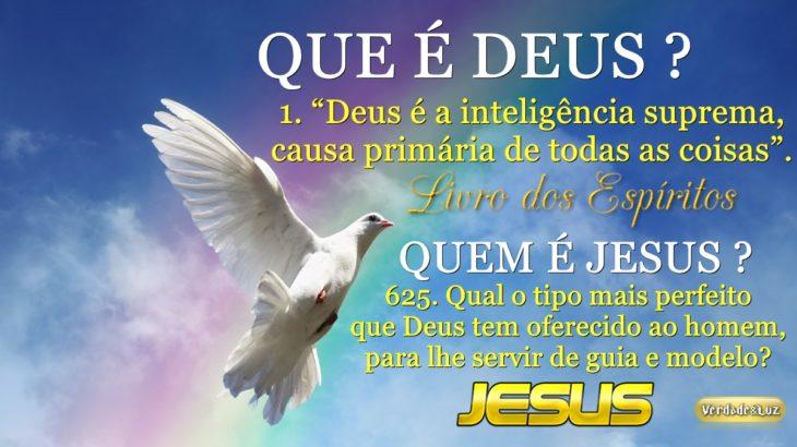 REFLEXÕES SOBRE DEUS E JESUS